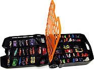 Кейс чемодан на 100машинок Хот Вилс  Hot Wheels 100-CarRolling Storage Case, фото 5