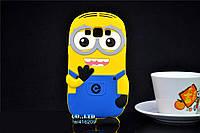 Резиновый 3D чехол для Samsung Galaxy A5 A500 Миньон