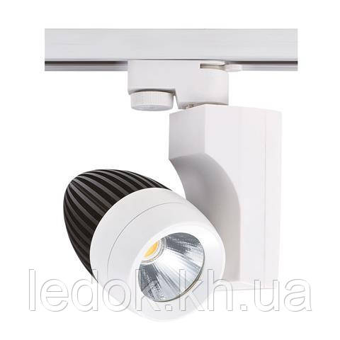 """Светильник трековый """"VENEDIK-23"""" 23W 4200K черный, серебряный, белый"""