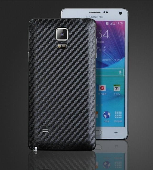 Сменная панель для Samsung Galaxy Note 4 Карбон