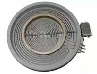 Конфорка к стеклокерамики Whirlpool 480121101742 180мм./110мм. 1800Вт./750Вт.