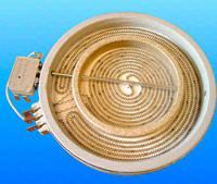Конфорка для стеклокирамики 180мм/120мм 1700Вт. EIKA
