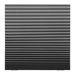 ИКЕА (IKEA) ШОТТИС, 903.695.07, Жалюзи плиссированные блокирующие свет, темно-серый, 100x190 см - ТОП ПРОДАЖ