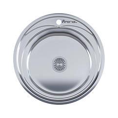 Кухонная мойка Imperial 490-A (0,6мм) Satin 160 mm