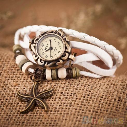 Женские Винтажные Часы - браслет Wh