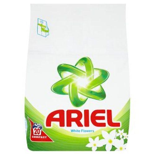 Ariel White Flower Стиральный порошок для белого белья1.4кг, 20 стирок