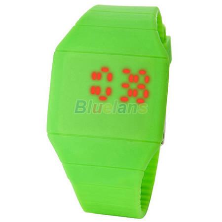 Женские Led часы Green