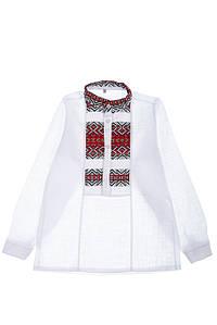 Вышиванка 120P249 junior (Бело-красный)