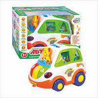 Развивающая игрушка сортер Автошка  (jt 9198)