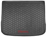 Коврик в багажник Mazda 3 (BP) (хэтчбек) 2019 -, черные, пластиковые (Avto-Gumm, 211816) - штука