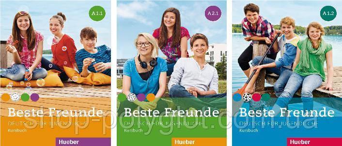 Beste Freunde Kursbuch + Arbeitsbuch (A1.1 - A1.2 - A2.1 - A2.2 - B1.1 - B1.2)