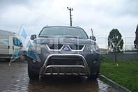 Кенгурятник Кенгур Передняя защита V2 Mitsubishi Outlander XL 2007-2012