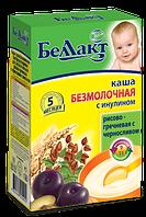 Безмолочная каша Беллакт рисово-гречневая с черносливом и инулином, 250 г
