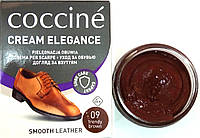 Крем хаки коричневый Кочине Coccine для гладкой кожи с губкой 50мл