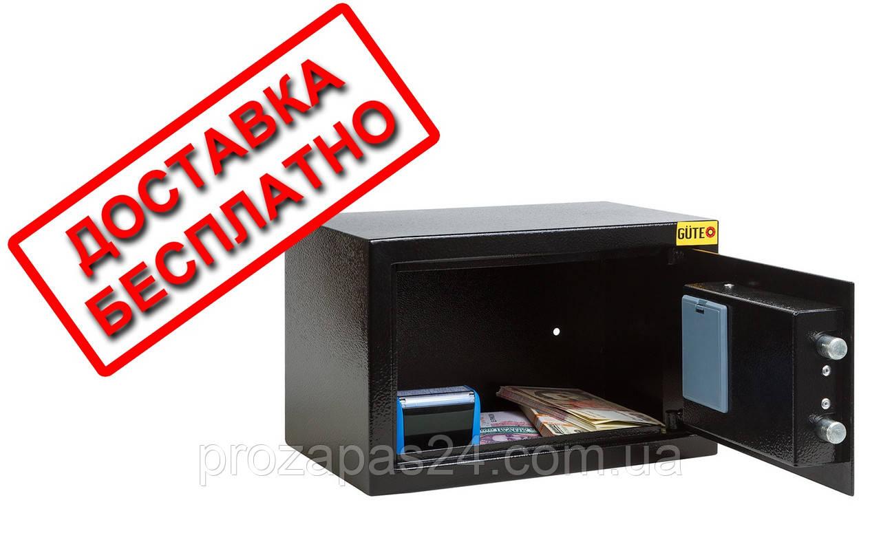 Сейф мебельный для дома офиса ВхШхГ 20х31х20см
