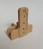 База кондуктора Т-образного на 16мм. / шаблон мебельный под шкант или конфирмат