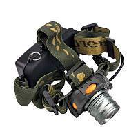 🔝 Фонарик налобный, BL-1505D, светодиодный фонарик, Удобный, фонарь налобный аккумуляторный | 🎁%🚚