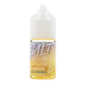 Жидкость на солевом никотине Tropical Island Salt Cold Mango