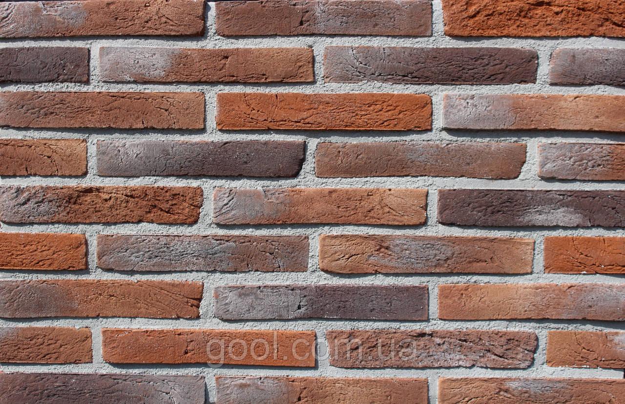 Плитка Лонгфорд 30 цементная ручной работы размер 295х18х50 мм.