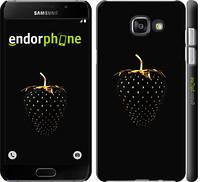 """Чехол на Samsung Galaxy A5 (2016) A510F Черная клубника """"3585c-158-17206"""""""