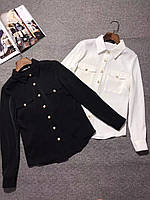 Женская  шелковая блузка Balm