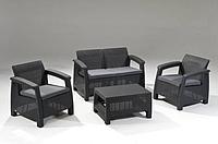 Allibert Corfu Set садовая мебель из искусственного ротанга, фото 1