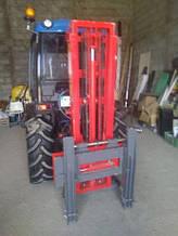 Вилочный гидравлический погрузчик (на навеску трактора) MCMS (WARKA). PHW-240/T.