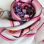 Шовковий хустку (атлас) 10077-3, павлопосадский хустку (атлас) шовковий з подрубкой, фото 8