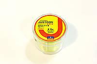 Лескa Daiwa Justron 0.33 мм тест 11 кг флуоресцентная, намотка 500м, фото 1