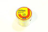 Лескa Daiwa Justron 0.37 мм тест 11.7 кг  флуоресцентная, намотка 500м, фото 1