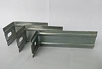 Фасадный кронштейн усиленный L-образный оцинкованный 200х50х50х1,5