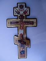 Крест с распятым Христом Дерево Размер  20*10см