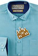 """Рубашка для мальчика в школу на длинный рукав """"Княжич"""""""