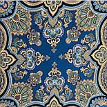 Фергана 1856-14, павлопосадский платок из вискозы с подрубкой, фото 5