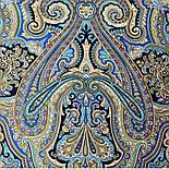 Фергана 1856-14, павлопосадский платок из вискозы с подрубкой, фото 4