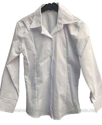 Женская рубашка простая