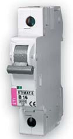 Автоматический выключатель ETIMAT 6  1p D 1.6А (6 kA)