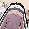 Ангоровые гольфики Q u e e nв 5 расцветках: белые, чёрные, бежевые, сиреневые и темно-голубые(15163), фото 7
