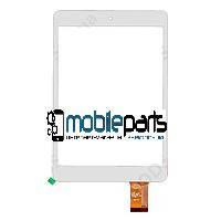 """Оригинальный Сенсор (Тачскрин) для планшета 7.85"""" Nautilus Art (197*132 мм,40 pin) (Белый-Самоклейка)"""