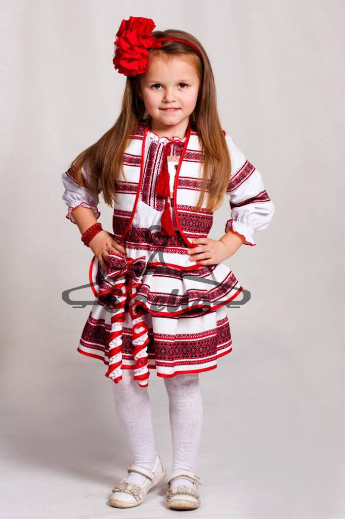 Детский Вышитый костюм Веснянка