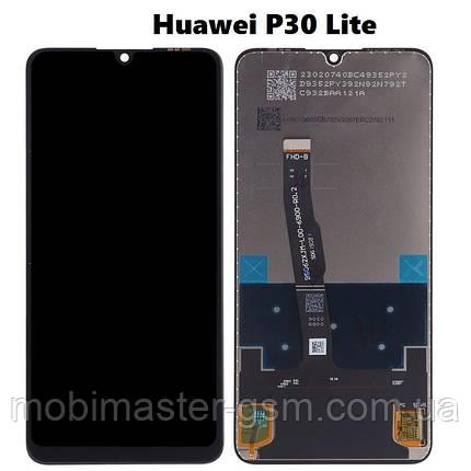 Дисплей Huawei P30 Lite + сенсор черный, фото 2