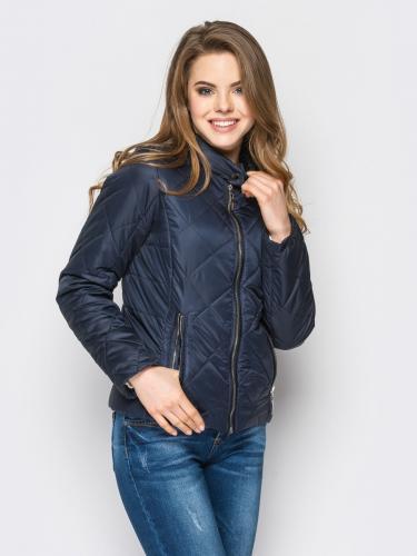 Демисезонная приталенная женская куртка К 0033 с 02