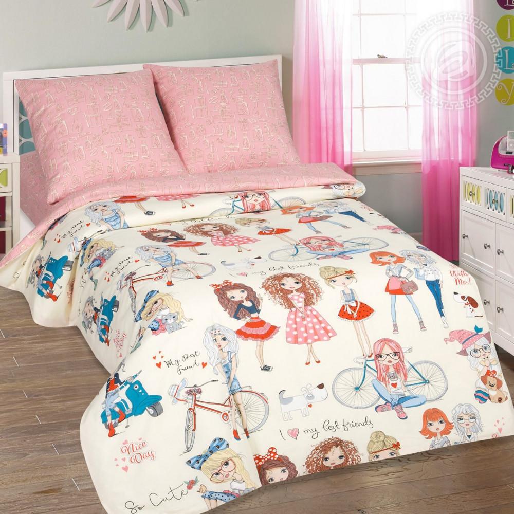 Постельное белье Стиляги поплин ТМ Комфорт текстиль (в кроватку)