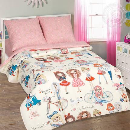 Постельное белье Стиляги поплин ТМ Комфорт текстиль (в кроватку), фото 2