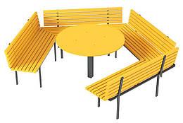 Лавочка со столиком Kidigo (VMVL008)