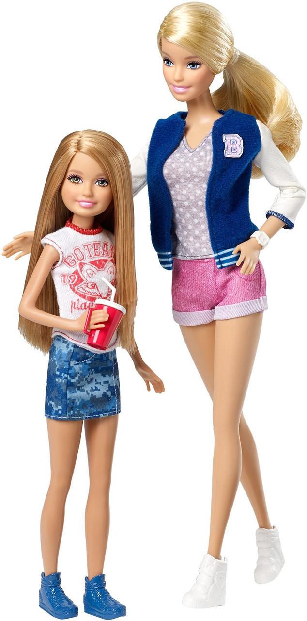 "Лялька Барбі і Стейсі серії ""Барбі і її сестри"" (Barbie Sisters Barbie and Stacie Doll 2-Pack)"