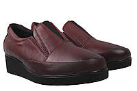 Туфли женские Gossi натуральная кожа, цвет бордо, размер 36-40, Турция
