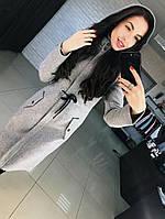 Женское шерстяное пальто с капюшоном  от 42 до 50 размера РАЗНЫЕ ЦВЕТА