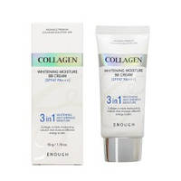 Enough Осветляющий увлажняющий BB крем с коллагеном 3 in 1 Collagen Whitening Moisture BB Cream SPF47 PA+++