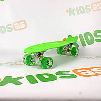 Скейт MS 0848-5 Green Penny Board свет колес, фото 1